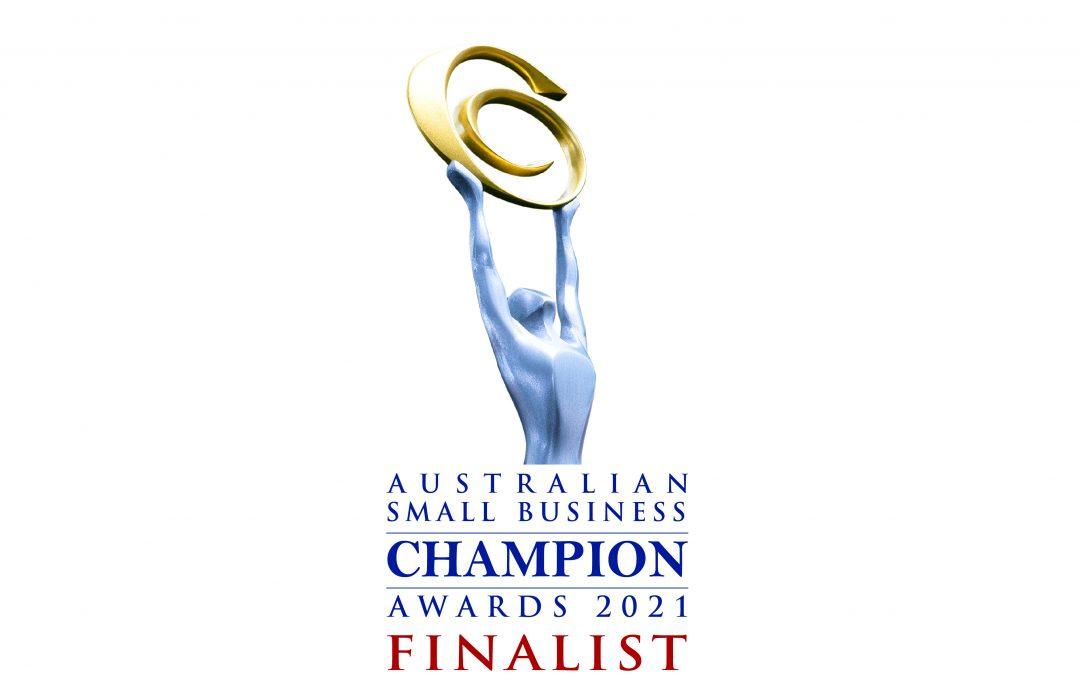 Finalist Australian Small Business Champion Awards