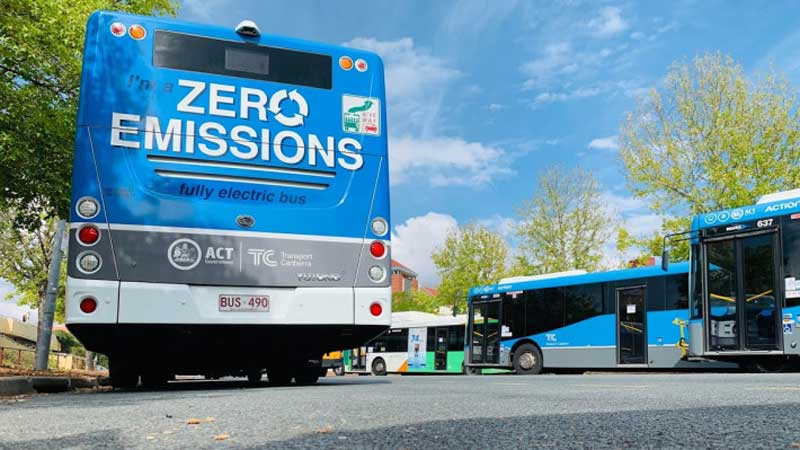 Final Stage of Zero Emissions Bus Trial
